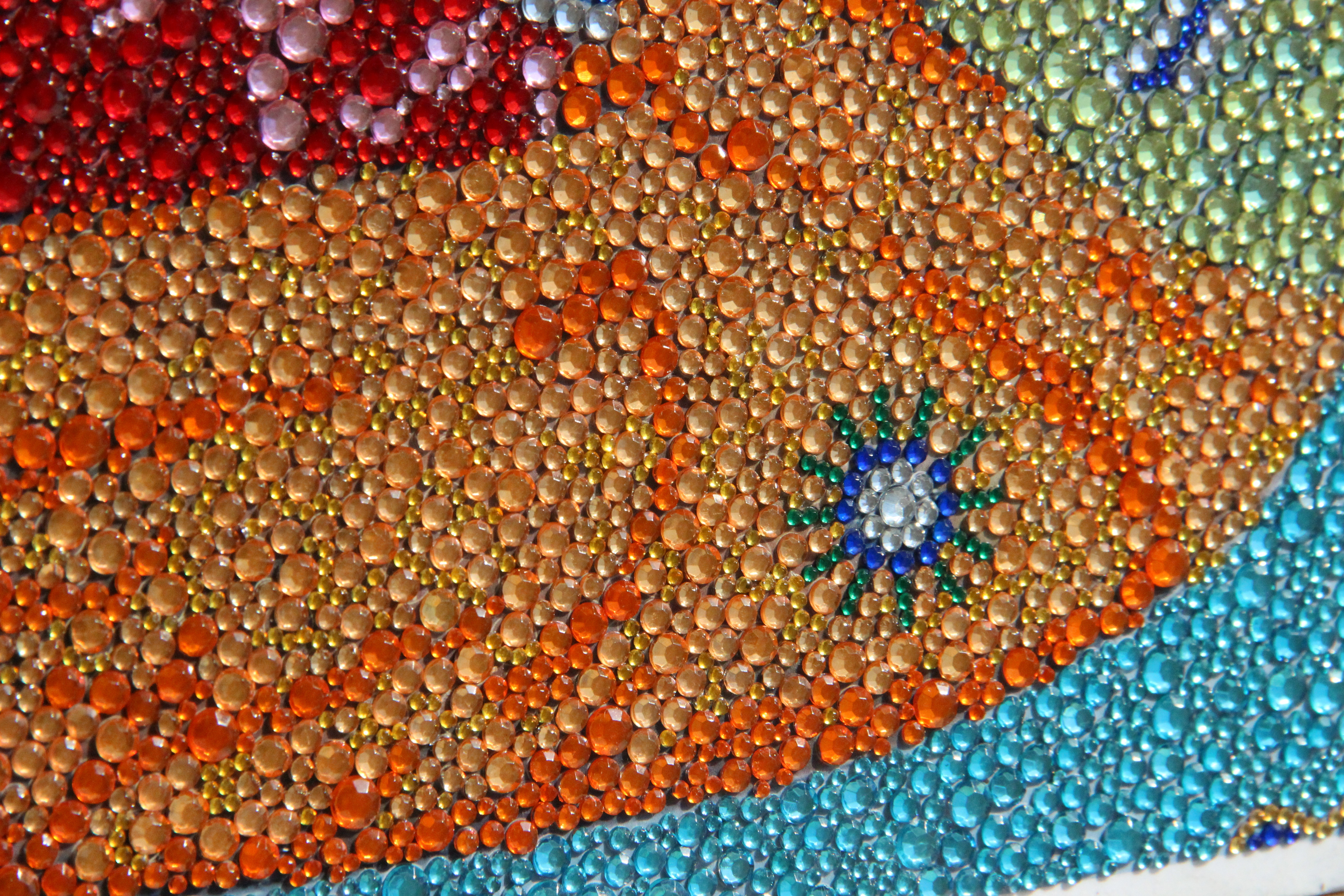 Эксклюзивная алмазная мозаика - изготовленная по Вашему эскизу (фото) 22