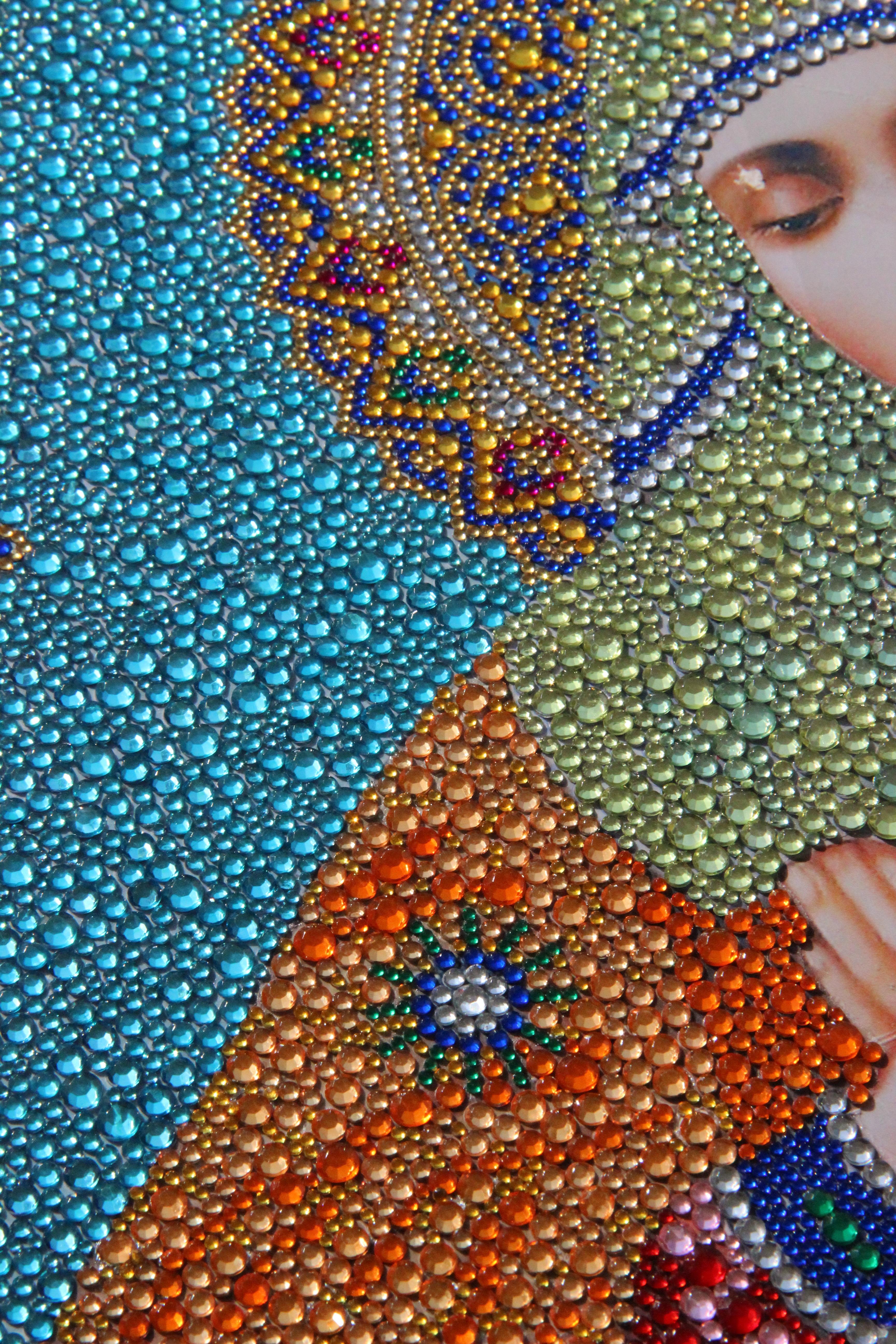 Эксклюзивная алмазная мозаика - изготовленная по Вашему эскизу (фото)