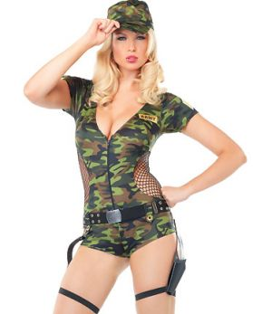 Эротический костюм милитари фото 786-638