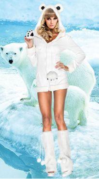 Костюм  Белый Мишка  - артикул: 7422