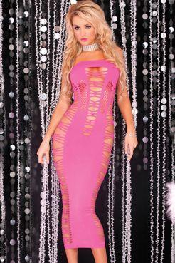 Платье-сетка  Сетчи  - артикул: 20625