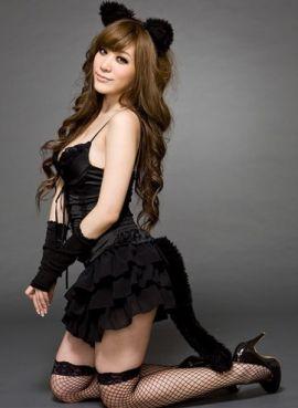 Костюм  Черный котенок  - артикул: 3007