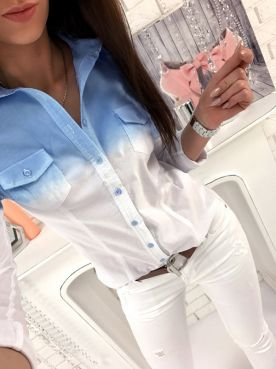 Рубашка  Омбре  - артикул: 27239