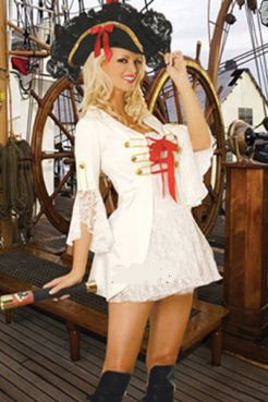 Костюм  Белая Пиратка  - артикул: 3069